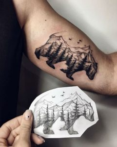 25 Creative And Unique Bear Tattoo Designs We Love Bears Blog