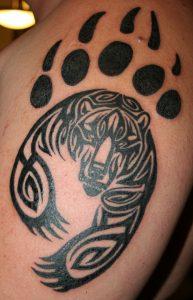 Tribal Bear Paw