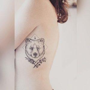 82f595aa58ac1 25 Creative And Unique Bear Tattoo Designs - We Love Bears Blog