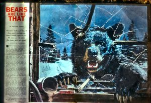 Scary Magazine Picture Of A Bear